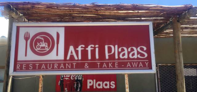 Affi Plaas Restaurant, B&B, Function venue
